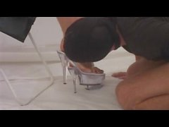 Marlinda Branco Trampling Dirty Bloody Feet Job