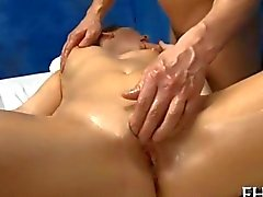 Arousing chicks lusty desires meet by a masseur