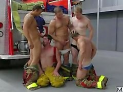 Firefighters from men