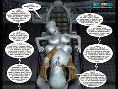 3D Comic: Galacticus. Chapters 8-12