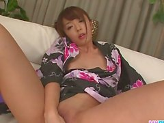Hot japanese bondage and toy fucking
