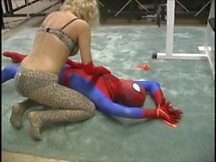 Spiderman vs the CHEETAH