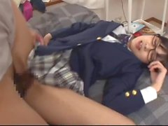 Japanese schoolgirl was erroneously inserted during intercrural sex 02
