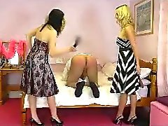 Double domme paddling with Miss Jessica Wood