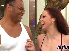 XY kinky interracial with BEAUTIFUL BOMBSHSLL HD