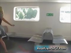 Sexy french girlfriend cruise ship sex part1