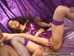 Cum Injected Japanese Ass Hole part4