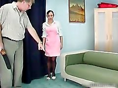 Bend Over And Submit intense slapping part5