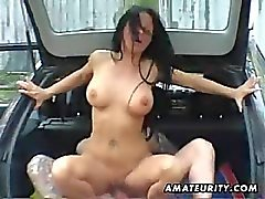 1fuckdatecom Busty amateur wife fucked in a