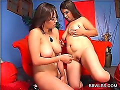 BBW naked lesbians rubbing hungry pussyes