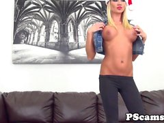 Tanner Mayes sprayed with cum on webcam show