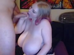 Oral sex with french big tits bbw