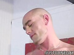 Enriques Currero And Brad Slater - Gut aussehend Männer in Hardcore Homosexuell Sex