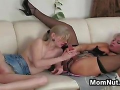 Mature Russian Woman Seduces A Young Girl