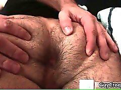 Adam Russo gets hairy anus fucked