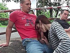 Young skinny teen girl PUBLIC sex Part 3