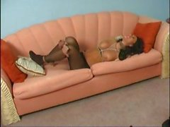Naughty boss Natalie sits on her secretaries face then binds her and sits on her some more