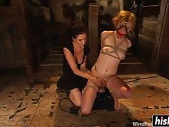 Sweet princess gets dominated by her friend