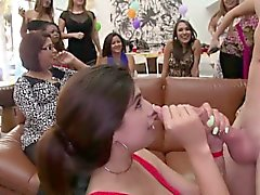 Cock Party for Horny Ladies loves to suck dick