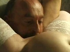 Amateur reality handjob home video