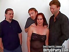 Big Titty Angel's Cock Sucking and Pussy Pounding Slumber Party