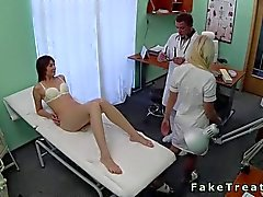 Doctor fucks his wild patient