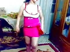 Hot sexy arab dance Egybtian in the house nude