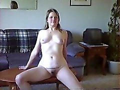 My wife strips nude in our living room