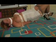 Two women bound and gagged in home