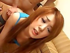 Beautiful korean girl from Tokyo fucked