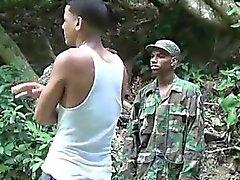 Aussie homo sotilaallinen kulli ja vapaa armeija homo · Komea alaston homo sotilaallinen vittu kyllä pora.