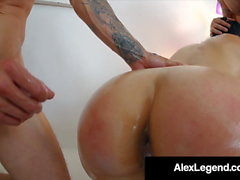 Fallon Ovest Doppia Vag & Double Anal By Alex Legend & Bro!