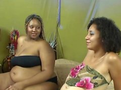 Amazing chubby lesbians like to have fun