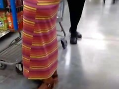Big Booty Grandma At Walmart