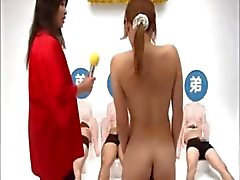 Its now the asian ladies turn to have her fun on the game show