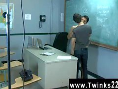 Gay sex Just another day at the Teach Twinks office! Jason Alcok