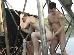 Gay outdoor groupsex with twinks and jocks