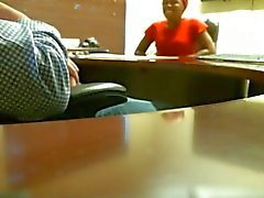 Hidden Camera #1 (Job interview ends up with a Handjob)