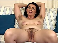 Hairy Mature Little Tits