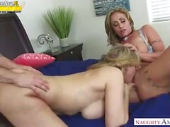 American group sex Julia Ann, Eva Notty, Mom, Aunt, Son