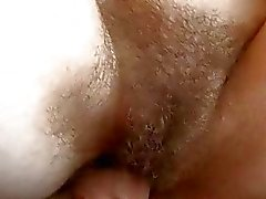 These hot black guys bang her pussy really hard