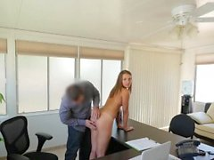 LOAN4K. Agent wants to see her nude body and feel her...