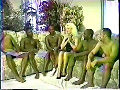 hot blonde creampied by blacks