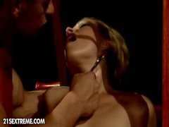 MILF gets dominated by younger lover from oqps