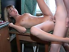 Ramming And Cumming On Her Wet Pink Pussy
