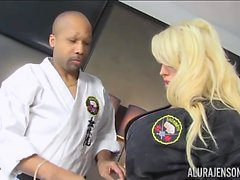 Alura Jenson Karate Chops Diamond Lou Wood