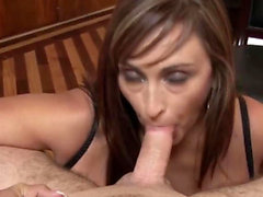 MILF gives the best POV deepthroat bj