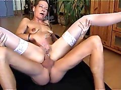 German mature Beatrice anal fucked again.