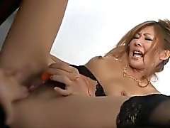 Méchants porn d'insertion de de jouets avec Erena Kurosawa a