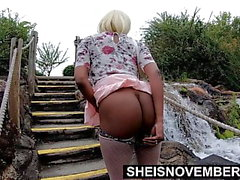 Sheisnovember Young Pussy And Big Ass Public Flash